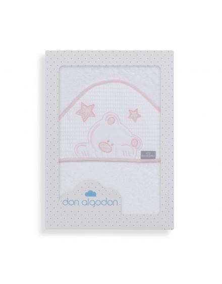 Capa de Baño VIGGO blanco rosa