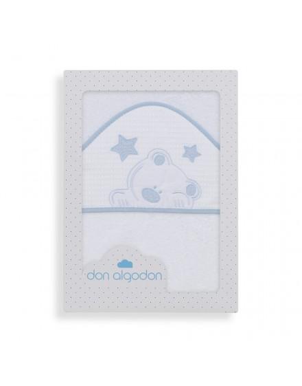 Capa de Baño VIGGO blanco azul