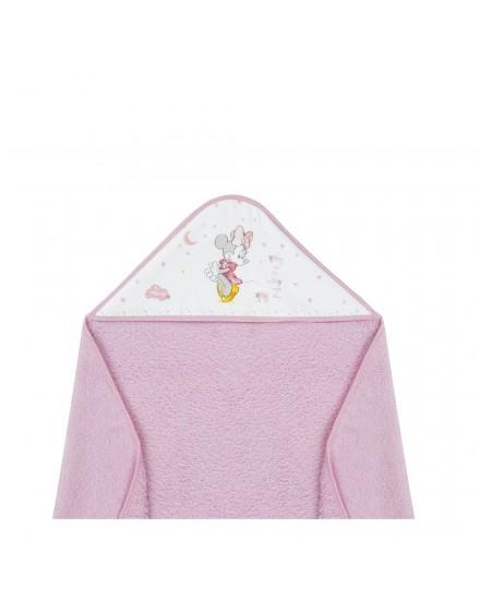 Capa de Baño disney Minnie Rosa