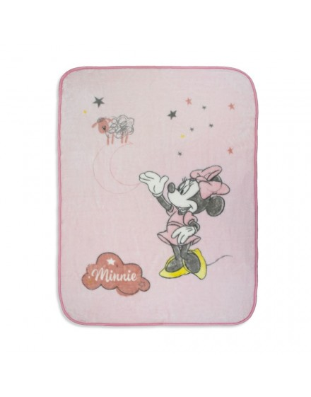 Manta Cuna Disney Minnie