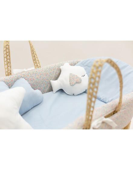 Moises de bebe LIBERTY BLUE