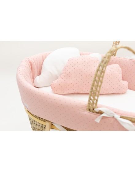 Moises de bebe TOPITOS PINK