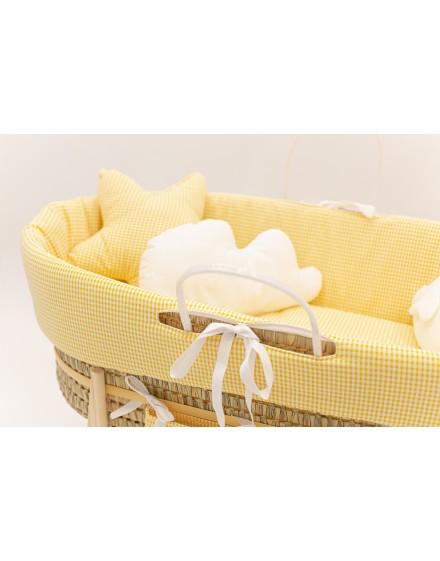 Moises bebe Yellow Vichy