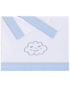 Juego sábanas Nuvola Azul