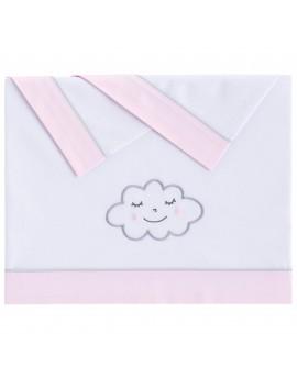 Juego sábanas Nuvola Rosa