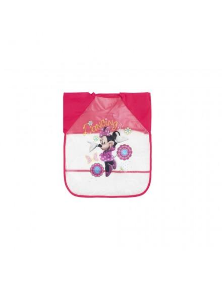 Babero con Mangas Minnie Mouse